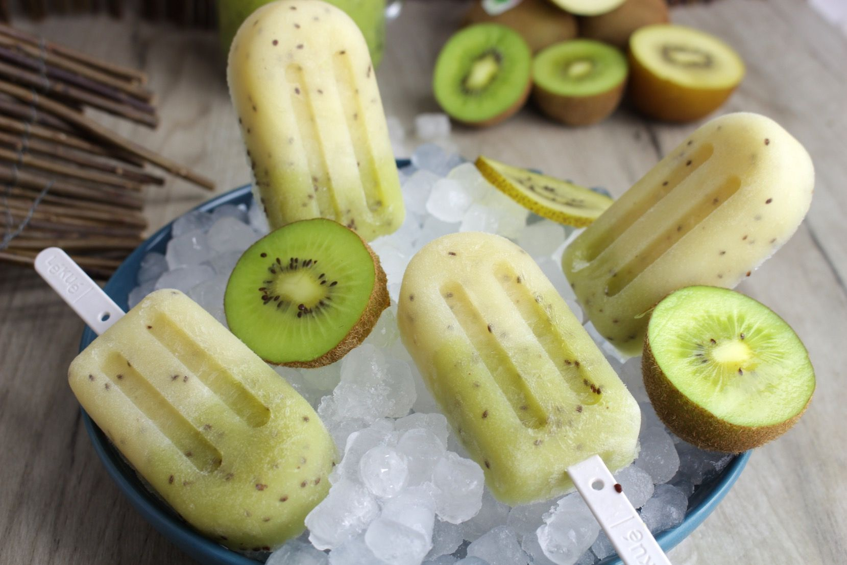 Helado de kiwi y yogur dietista nutricionista jerez adelgazar perdida de peso nutricion infantil