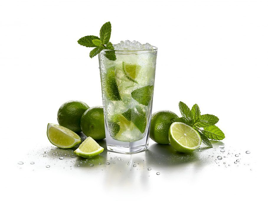 mojito casero 0'0% bebida refrescante y saludable para el verano. Receta ADN Nutricion Jerez dietista nutricionista perder peso nutricion deportiva