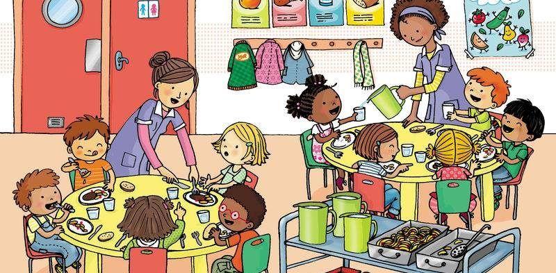Beneficios del comedor escolar