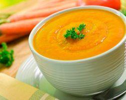 Crema de zanahorias perdida de peso nutricion deportiva clinica adn nutricion jerez cadiz alimentación saludable
