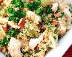 quinoa con pollo y verduras recetas saludables educación nutricional alimentación deporte Clinica adn jerez Recetas ADN