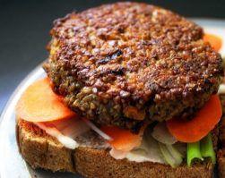 hamburguesa de lenteja realfood realfooder receta vegana receta vegetariana alimentación saludable