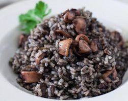 arroz negro con calamar, recetas de rechupete, clinica adn nutricion, jerez de la frontera, pérdida de peso, proteina, educación nutricional, recetas arroz, alimentación saludable