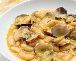 fabes con almejas, clinica ADN nutricion, receta asturiana, perdida de peso, alimentacion saludable, nutricion deportiva