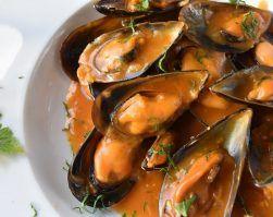 mejillones a la marinera, perdida de peso, nutricion deportiva, marisco, recetas saludables, alimentacion sana
