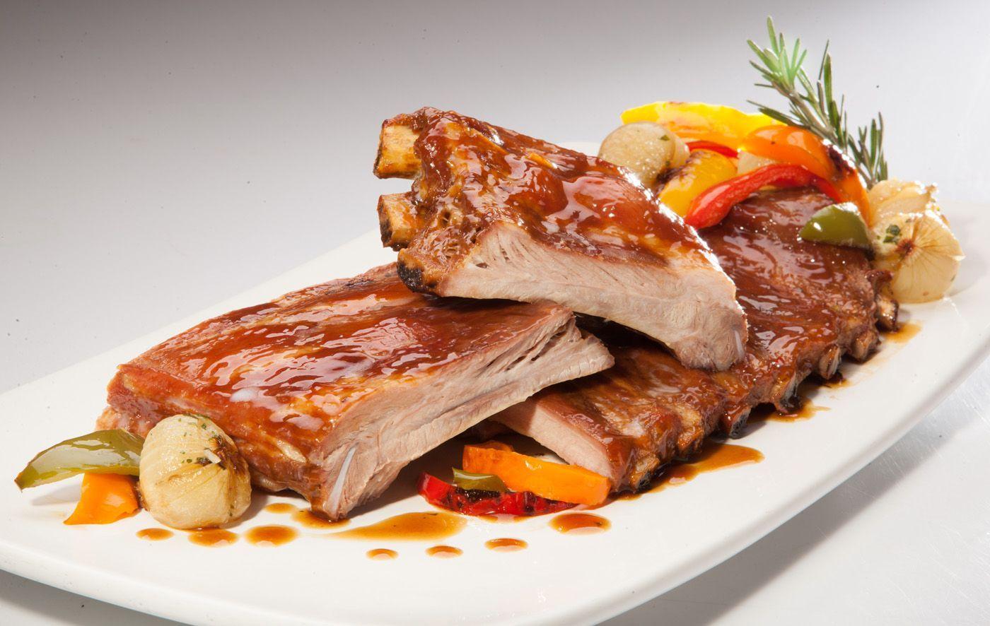 costillas de cerdo al horno con verduras, receta saludable, receta carne, recetas, menu saludable, alimentación, nutrición, deporte, salud, alimentación saludable, perder peso, perdida de peso, nutrición deportiva